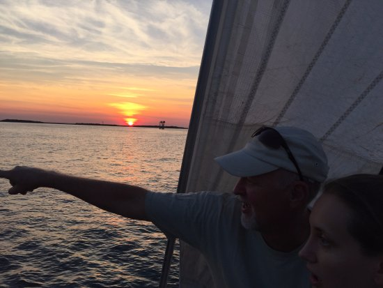 Fernandina Beach, FL: Sundown
