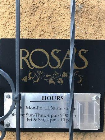 Rosa's Italian Restaurant : Home cooked goodness!