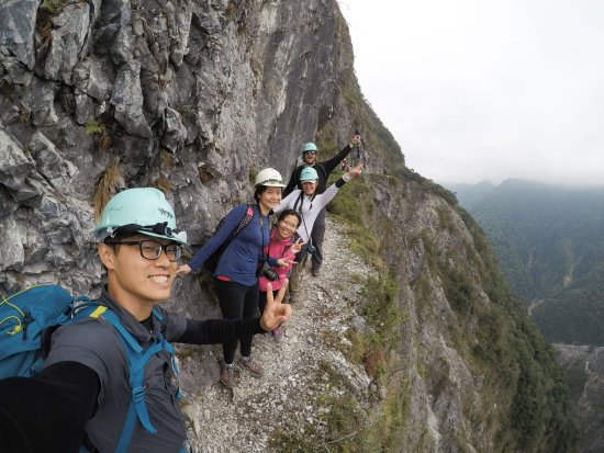Hualien, Taiwan: Fun day of hiking, laughs, and new friends! Loved William!
