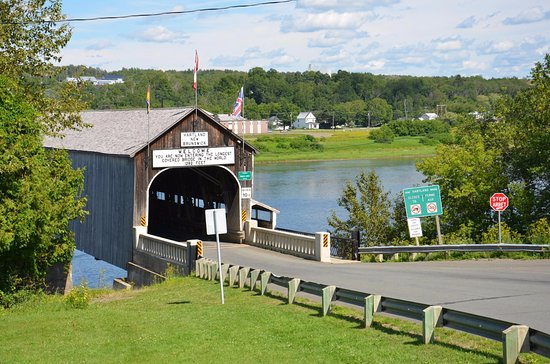 Hartland, Canadá: Well conserved and worth the detour
