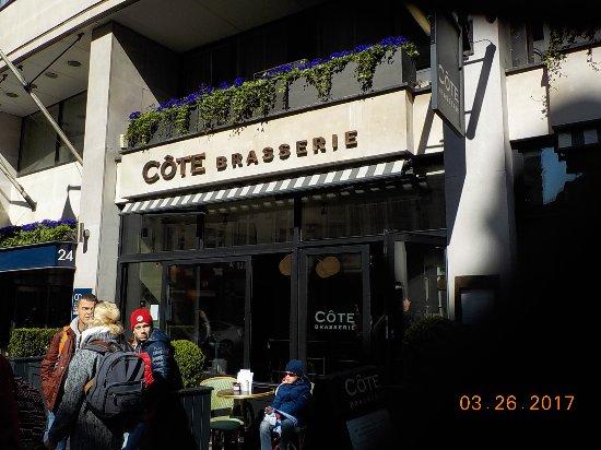 Cote Brasserie - St Pauls: Exterior