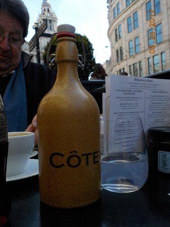 Cote Brasserie - St Pauls: Cool ceramic water jug