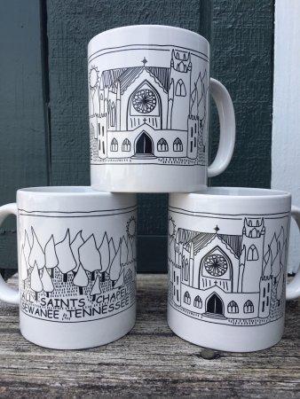 Sewanee, Τενεσί: All Saint's Chapel mug