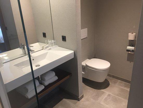 Design Badkamer Nijmegen : De badkamer met regendouche foto van van der valk hotel
