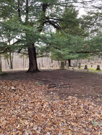 Loudonville, OH: Cemetary behind Landoll's Mohican Castle