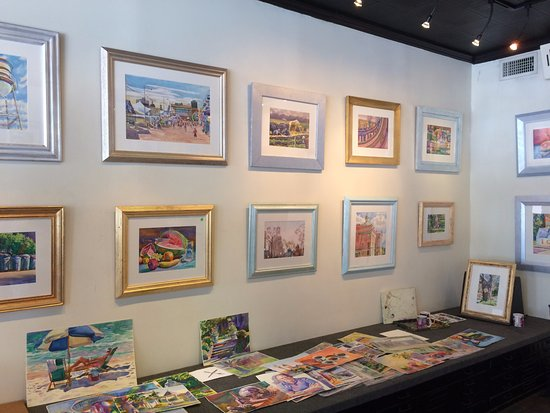 Wyatt Waters Gallery: Framed paintings