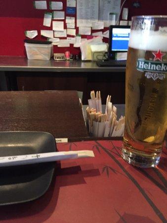 Kyoto Sushi: 4,- euro....gewoon te duur!!!