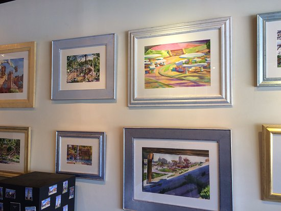 Wyatt Waters Gallery: Local area watercolors