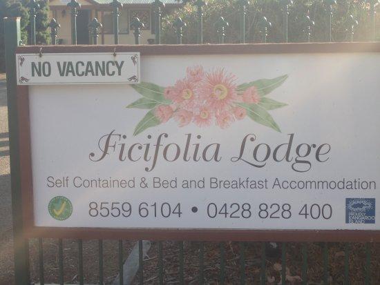 Parndana, أستراليا: Ficifolia Lodge