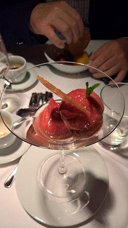 Posthorn Hotel-Restaurant : Zwetschgen-Sorbet mit Gin