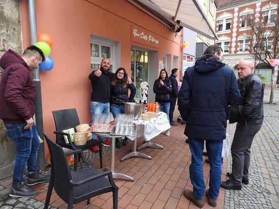Helmstedt, Alemanha: Eiscafé Dolomiti
