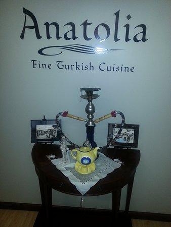 Greensburg, PA: Display table at Anatolia