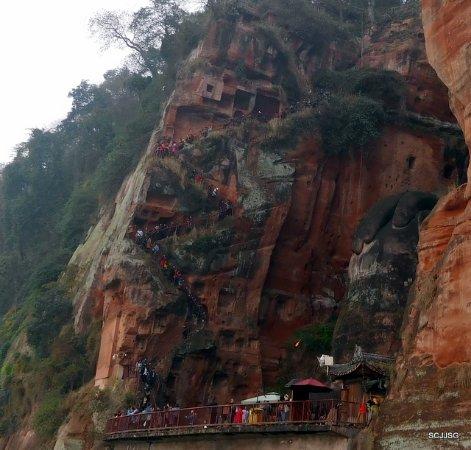 Heilongjiang Plank Road: going down