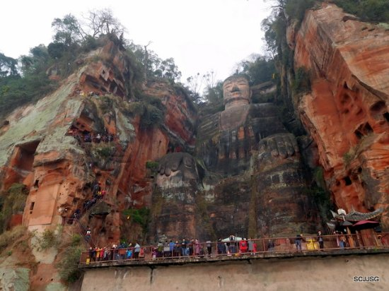 Heilongjiang Plank Road: Leshan Buddha