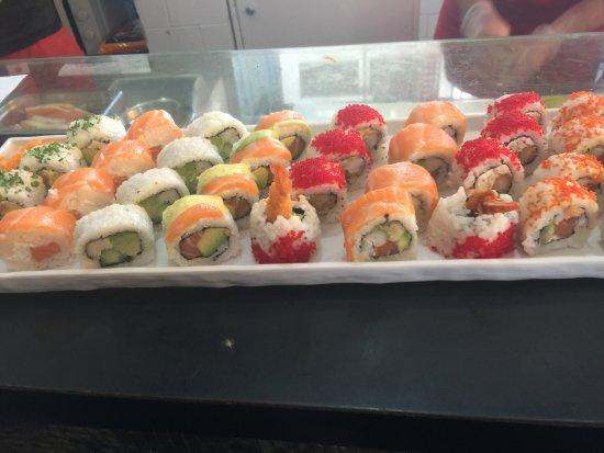 Yoka Sushi : sushis