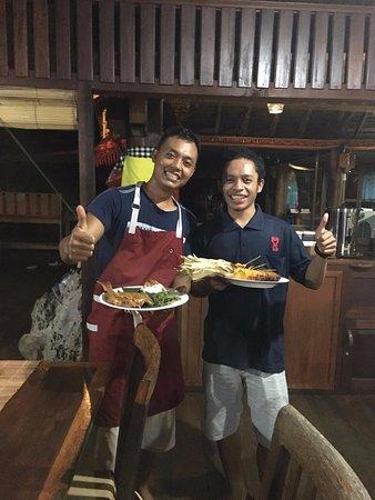 ราชา อัมปัต ไดฟ์ ลอดจ์: Chef Dedi & Elfrid