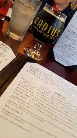 Emporia, KS: Good beer, good menu