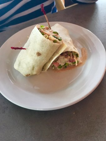 Gainesville, VA: Blackened Catfish Wrap