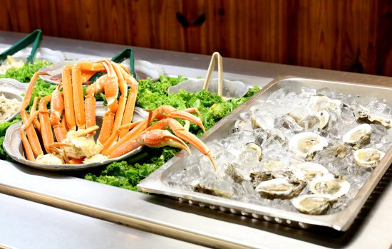 Enjoyable Raw Bar Picture Of Crabby Georges Seafood Buffet North Home Interior And Landscaping Pimpapssignezvosmurscom