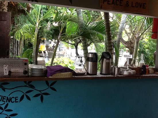 Bali Hotel Pearl: Coffee and toast bar
