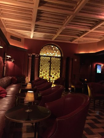 Rosewood Mansion on Turtle Creek: Dinner in the bar