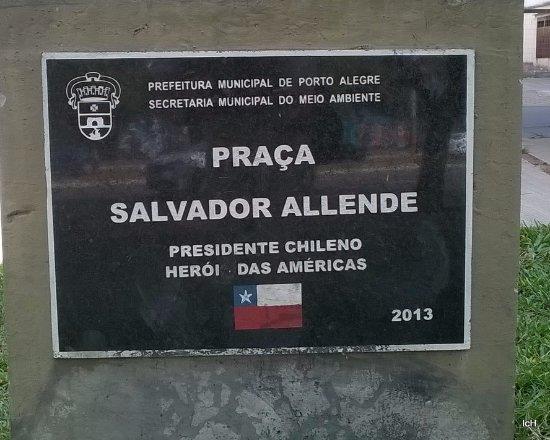 Praca Salvador Allende
