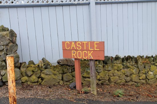 Marblehead, MA: Castle Rock sign