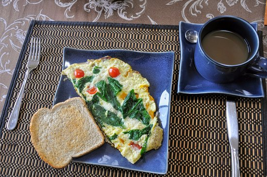 Arcturus Retreat B&B: Breakfast Frittata