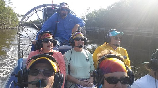 Everglades City Airboat Tours: 20170404_091727_large.jpg