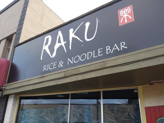 Vernon, Kanada: Raku Rice&Noodle Bar--oiyshi ne!!!😋🍲