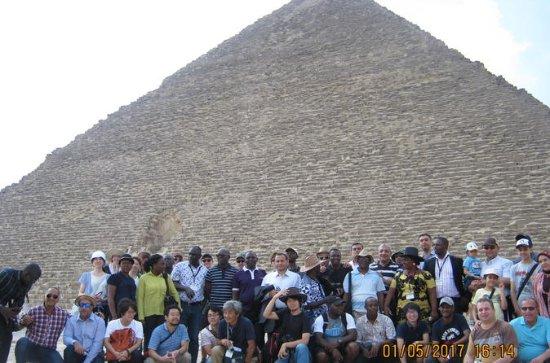 One-Day Tour: Giza Pyramids, Sphinx...