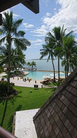 Sheraton Denarau Villas: View from our room (second floor)