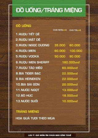 Thuy S Vietnamese Restaurant Menu