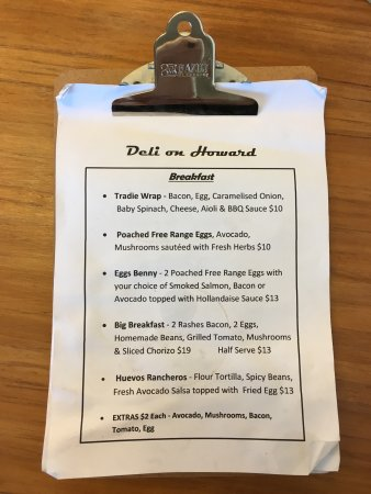 Nambour, Australia: Deli on Howard