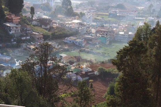Gem Park-Ooty: View from outside hotel