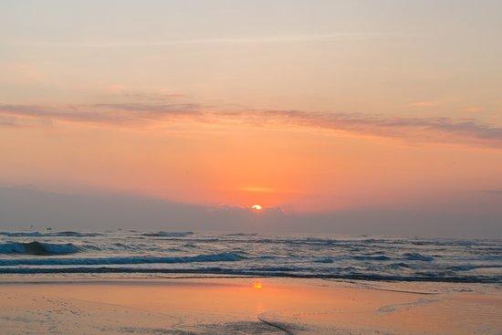 le belhamy resort & spa: le belhamy's private beach at sunrise