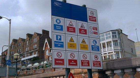 "Ramsgate, UK: ""NO"" comment"