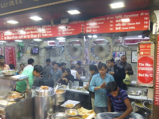 Image result for paranthe wali gali delhi