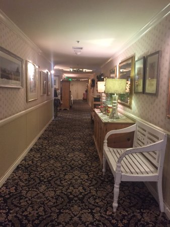 Hallway in the Inn kind of looks like retirement home Picture of