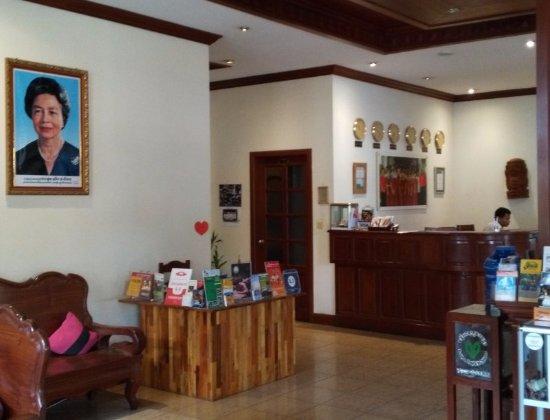 Soria Moria Boutique Hotel: reception area