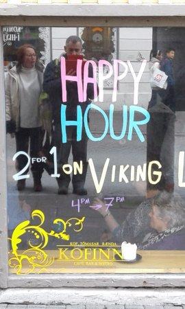 Kofinn: Happy hour