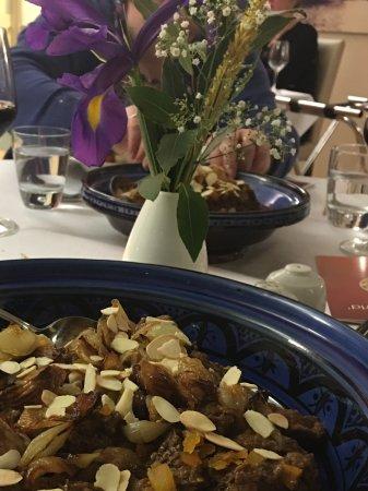 Academy Restaurant: Lamb tajine.