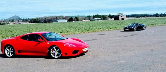 East Lothian, UK: Ferrari