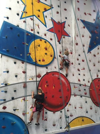 Circus Arts Byron Bay: The Rock Climbing Wall :)