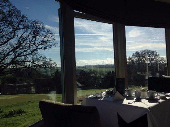 Chittlehamholt, UK: Breakfast in the Devon View Restaurant!