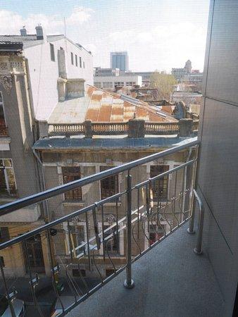 Hotel Christina: Small balcony