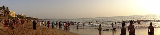 Juhu Beach: Panoramic view from the beach