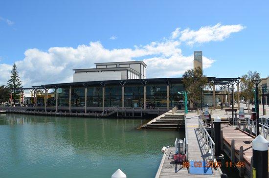 Mandurah Performing Arts Centre: Views from the pier