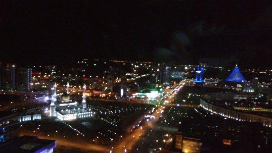 Apart Hotel Northern Lights: Вид из пент-хауса