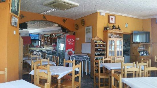 Casarabonela, Spanje: Comedor